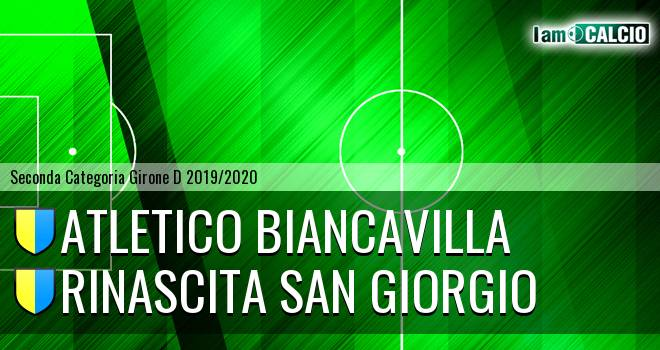 Atletico Biancavilla - Rinascita San Giorgio