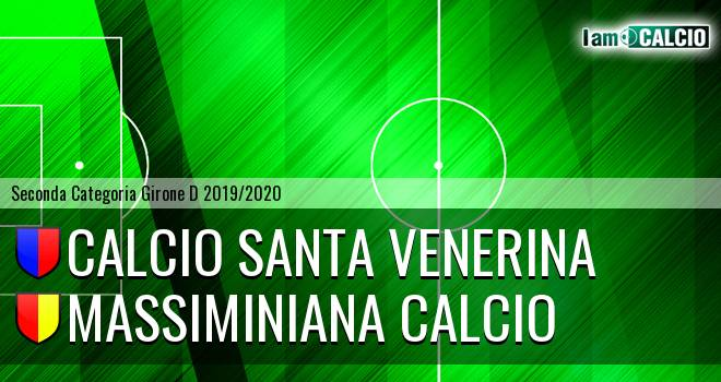 Calcio Santa Venerina - Massiminiana Calcio