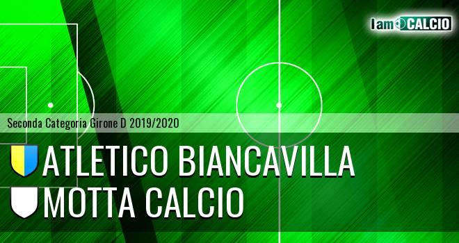 Atletico Biancavilla - Motta Calcio