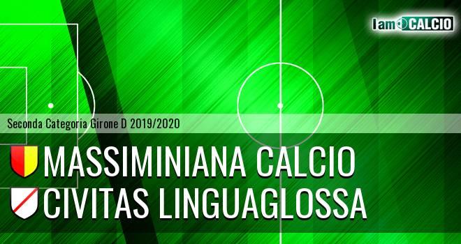 Massiminiana Calcio - Civitas Linguaglossa