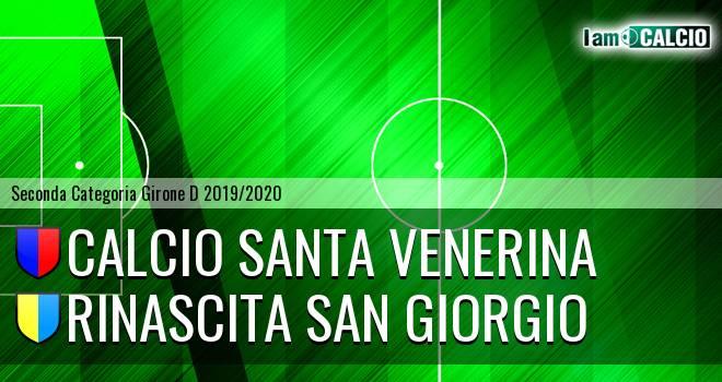 Calcio Santa Venerina - Rinascita San Giorgio