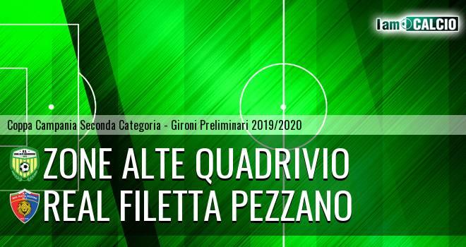 Zone Alte Quadrivio - Real Filetta Pezzano