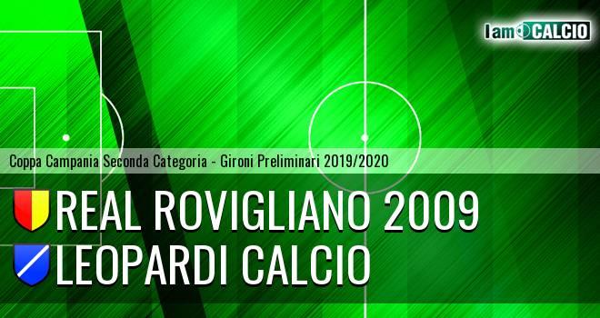 Real Rovigliano 2009 - Leopardi Calcio