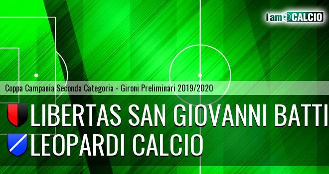 S.S. San Giovanni Battista - Leopardi Calcio
