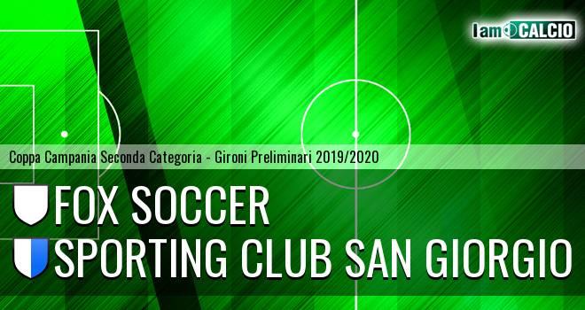 Fox Soccer - Sporting Club San Giorgio