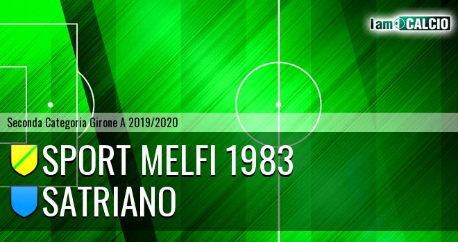 Sport Melfi 1983 - Satriano