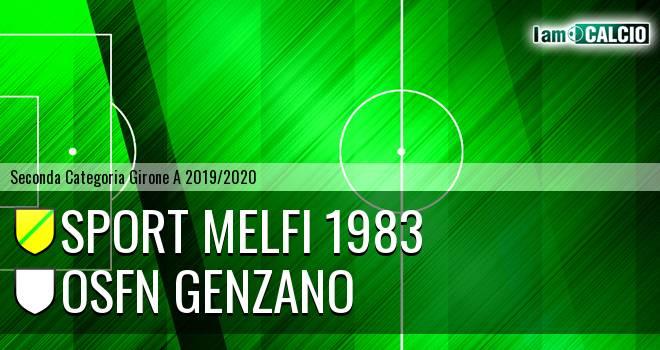Sport Melfi 1983 - Osfn Genzano