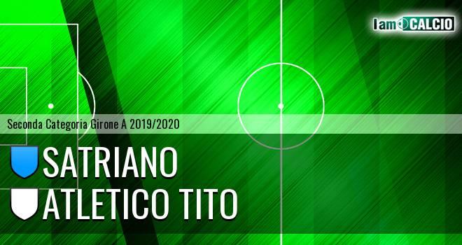 Satriano - Atletico Tito