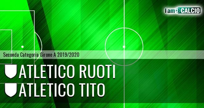 Atletico Ruoti - Atletico Tito