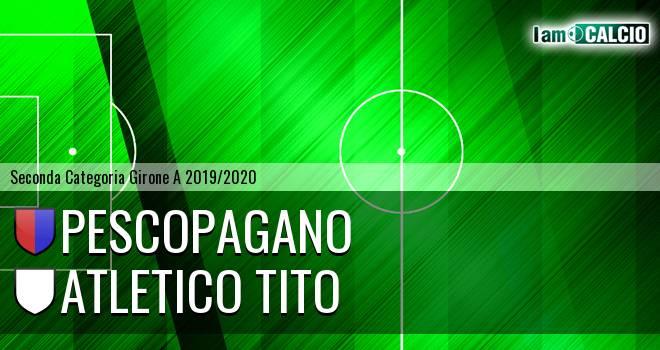 Pescopagano - Atletico Tito