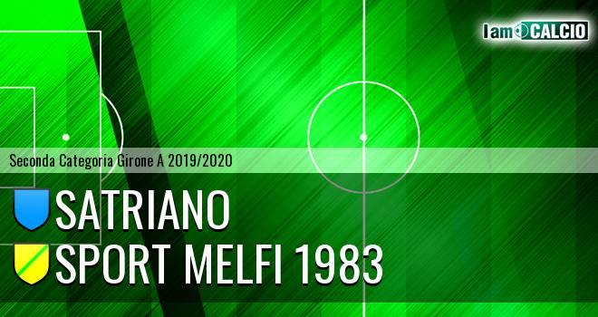 Satriano - Sport Melfi 1983