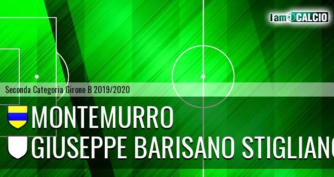Montemurro - Giuseppe Barisano Stigliano