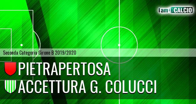Pietrapertosa - Accettura G. Colucci