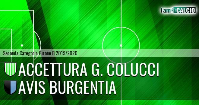 Accettura G. Colucci - Avis Burgentia