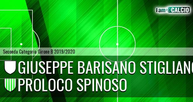Giuseppe Barisano Stigliano - Proloco Spinoso