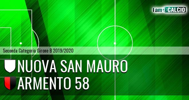Nuova San Mauro - Armento 58