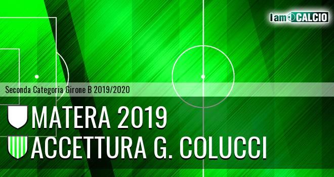 Matera 2019 - Accettura G. Colucci