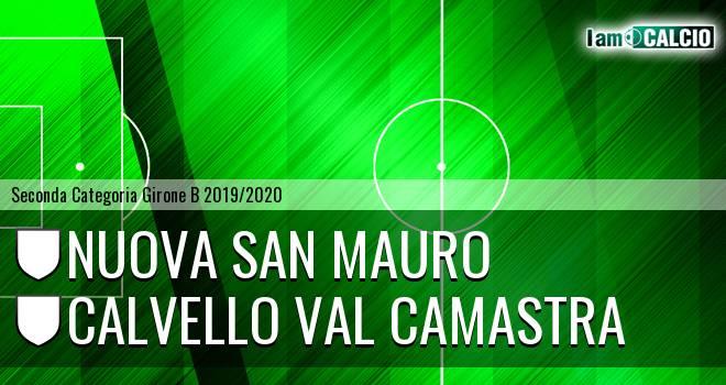 Nuova San Mauro - Calvello Val Camastra