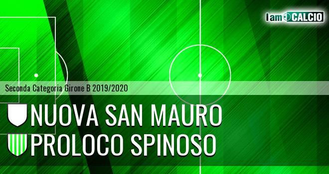 Nuova San Mauro - Proloco Spinoso