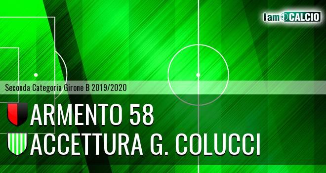 Armento 58 - Accettura G. Colucci