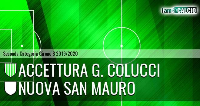 Accettura G. Colucci - Nuova San Mauro