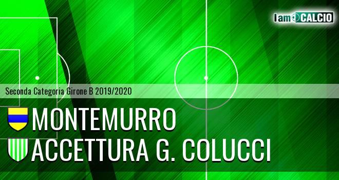 Montemurro - Accettura G. Colucci