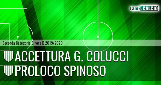 Accettura G. Colucci - Proloco Spinoso