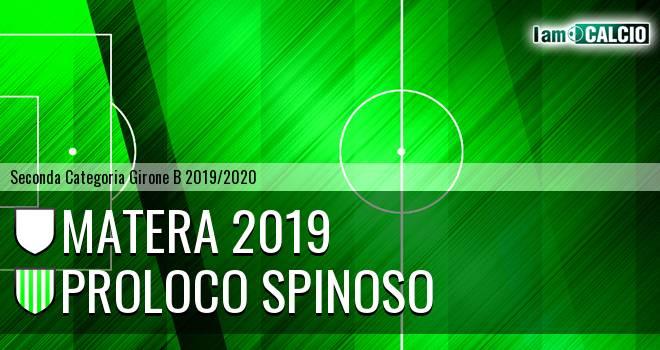 Matera 2019 - Proloco Spinoso