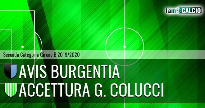 Avis Burgentia - Accettura G. Colucci