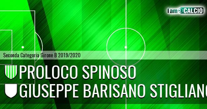 Proloco Spinoso - Giuseppe Barisano Stigliano