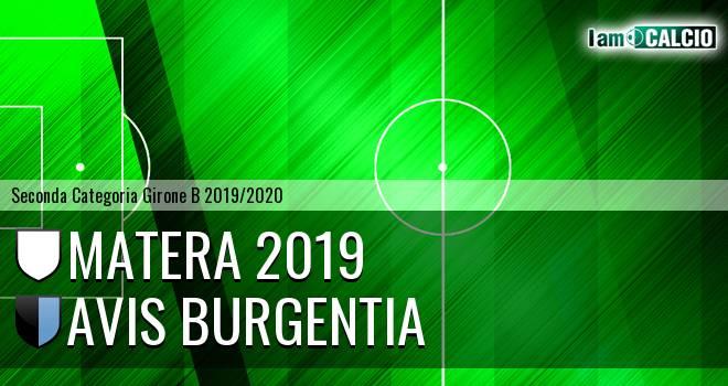 Matera 2019 - Avis Burgentia