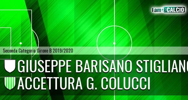 Giuseppe Barisano Stigliano - Accettura G. Colucci