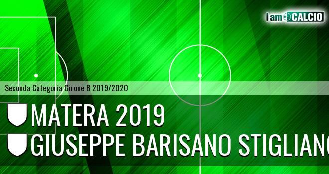Matera 2019 - Giuseppe Barisano Stigliano