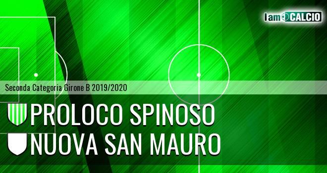 Proloco Spinoso - Nuova San Mauro