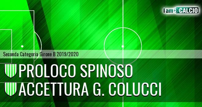 Proloco Spinoso - Accettura G. Colucci