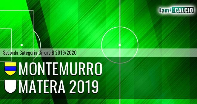 Montemurro - USD Matera Calcio