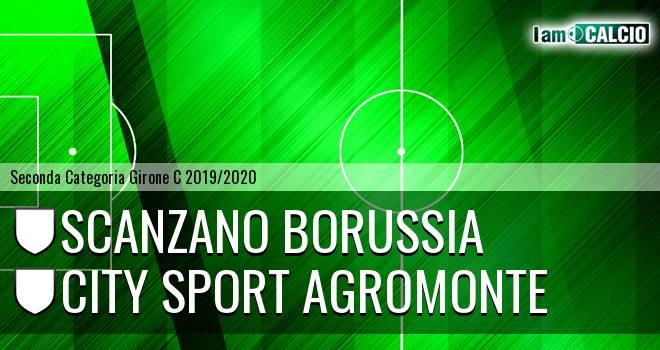 Scanzano Borussia - City Sport Agromonte