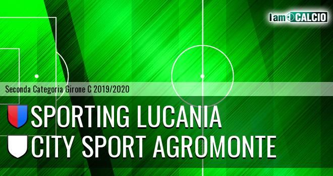 Sporting Lucania - City Sport Agromonte