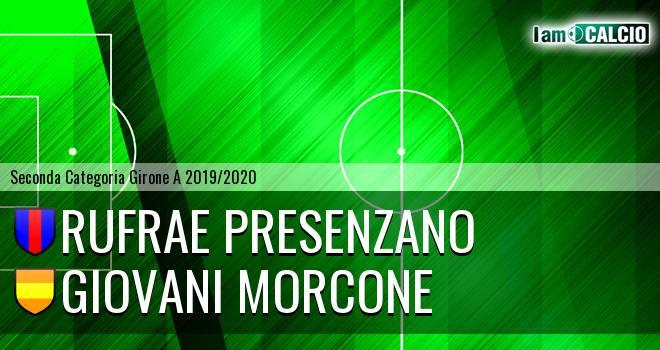 Rufrae Presenzano - Giovani Morcone