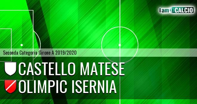 Castello Matese - Olimpic Isernia