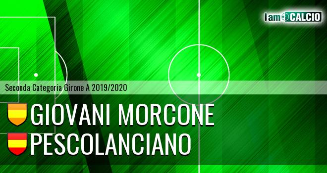 Giovani Morcone - Pescolanciano