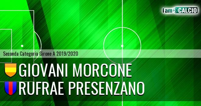 Giovani Morcone - Rufrae Presenzano