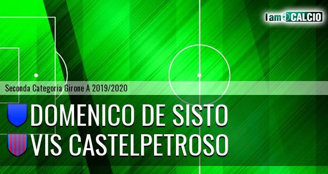 Domenico De Sisto - VIS Castelpetroso