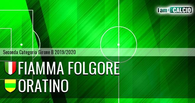 Fiamma Folgore - Oratino
