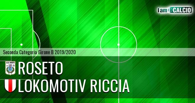 Roseto - Lokomotiv Riccia
