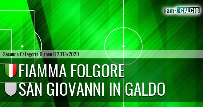 Fiamma Folgore - San Giovanni in Galdo