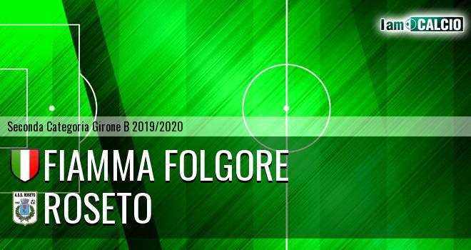 Fiamma Folgore - Roseto