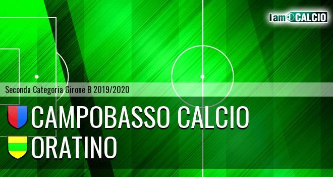 Campobasso Calcio - Oratino