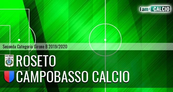 Roseto - Campobasso Calcio