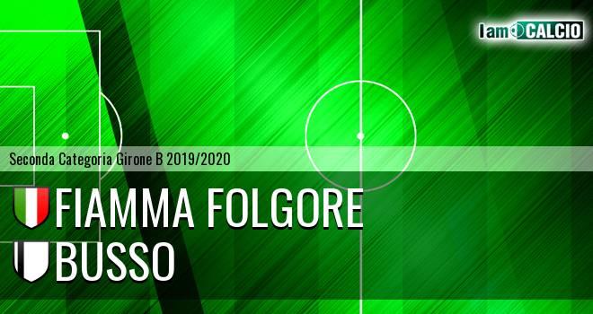 Fiamma Folgore - Busso